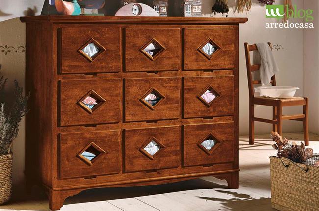 Cassettiere in legno: classico, moderno o urban chic? - M.Blog