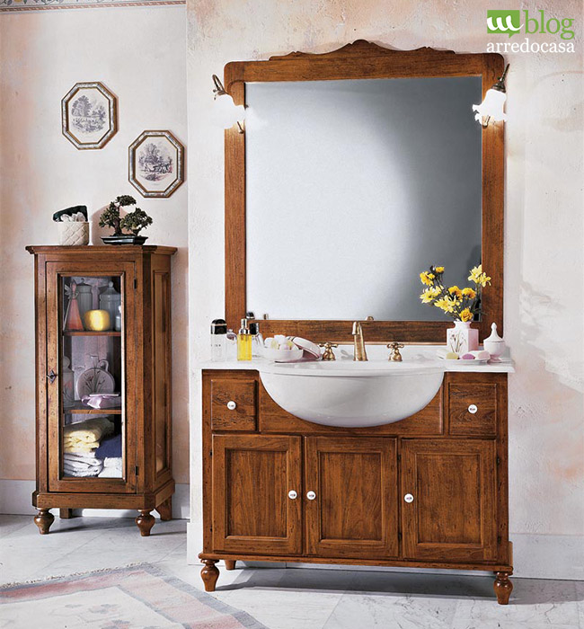 Mobili country chic per una casa rustica m blog - Bagno country chic ...