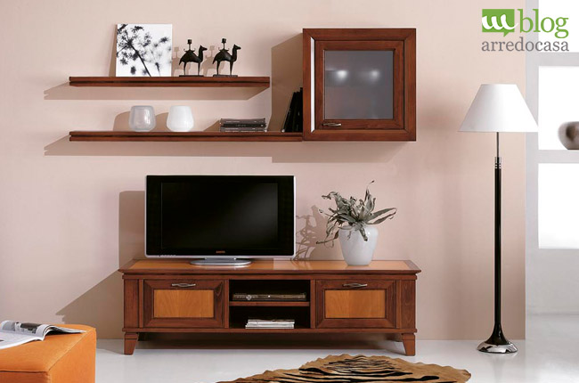 Mobili porta televisore in legno massello m blog - Mobile porta tv legno ...