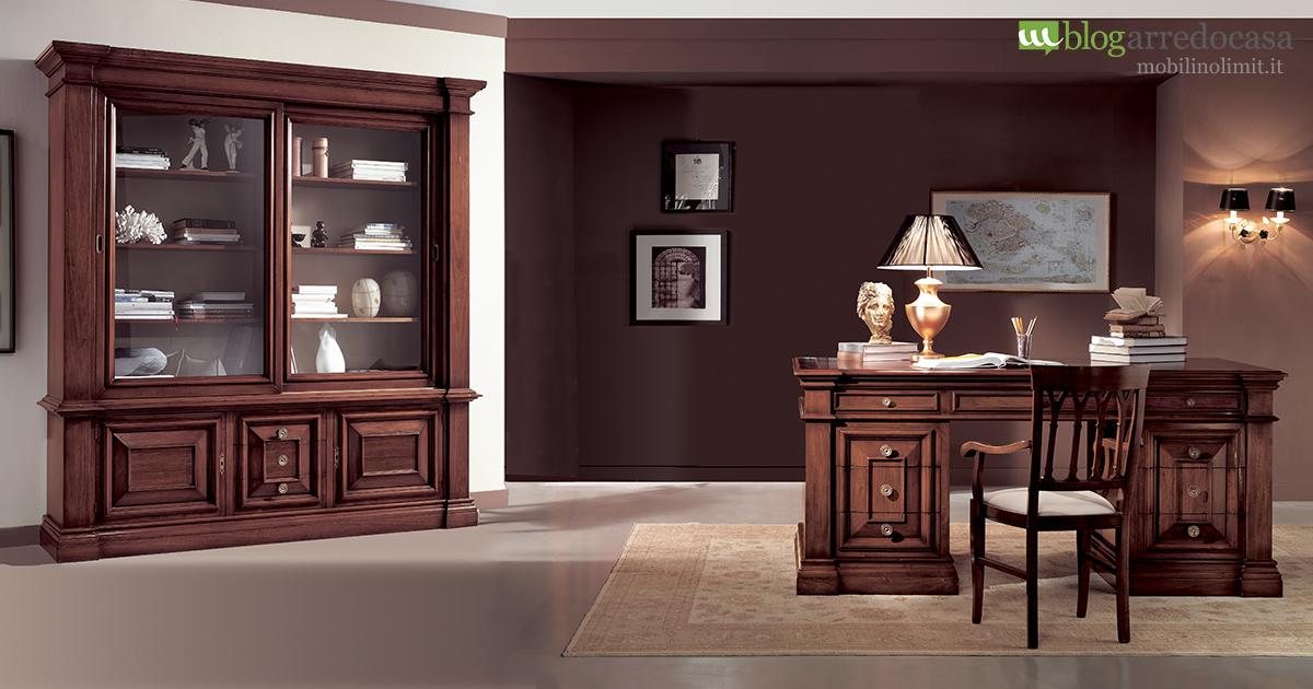 mobili classici per ufficio e studio professionale come