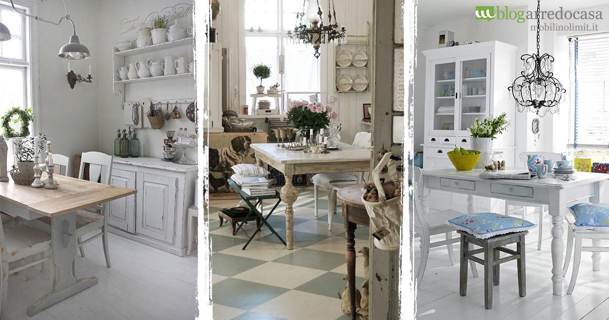 Arredamento shabby per la tua cucina quali mobili for Accessori cucina arredamento