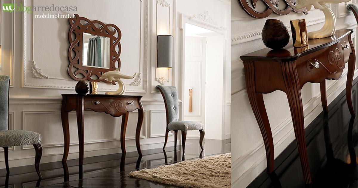 Arredare l 39 ingresso con mobili classici alcuni consigli per te m blog for Mobili classici per ingresso