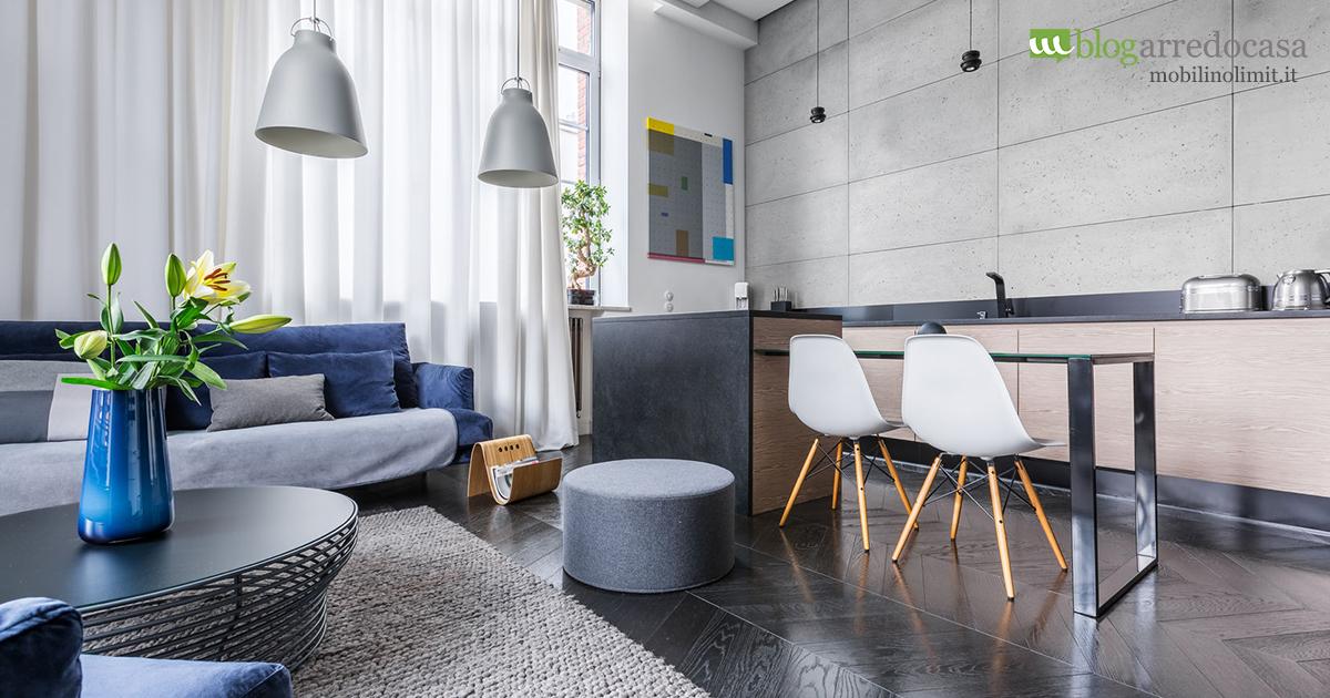 Come arredare un soggiorno piccolo con angolo cottura m blog - Idee per arredare soggiorno con angolo cottura ...
