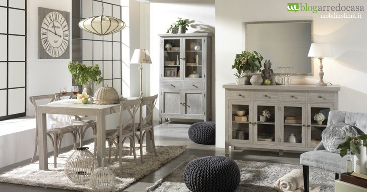 Arredare con i mobili decapati in stile provenzale shabby for Stili di interior design