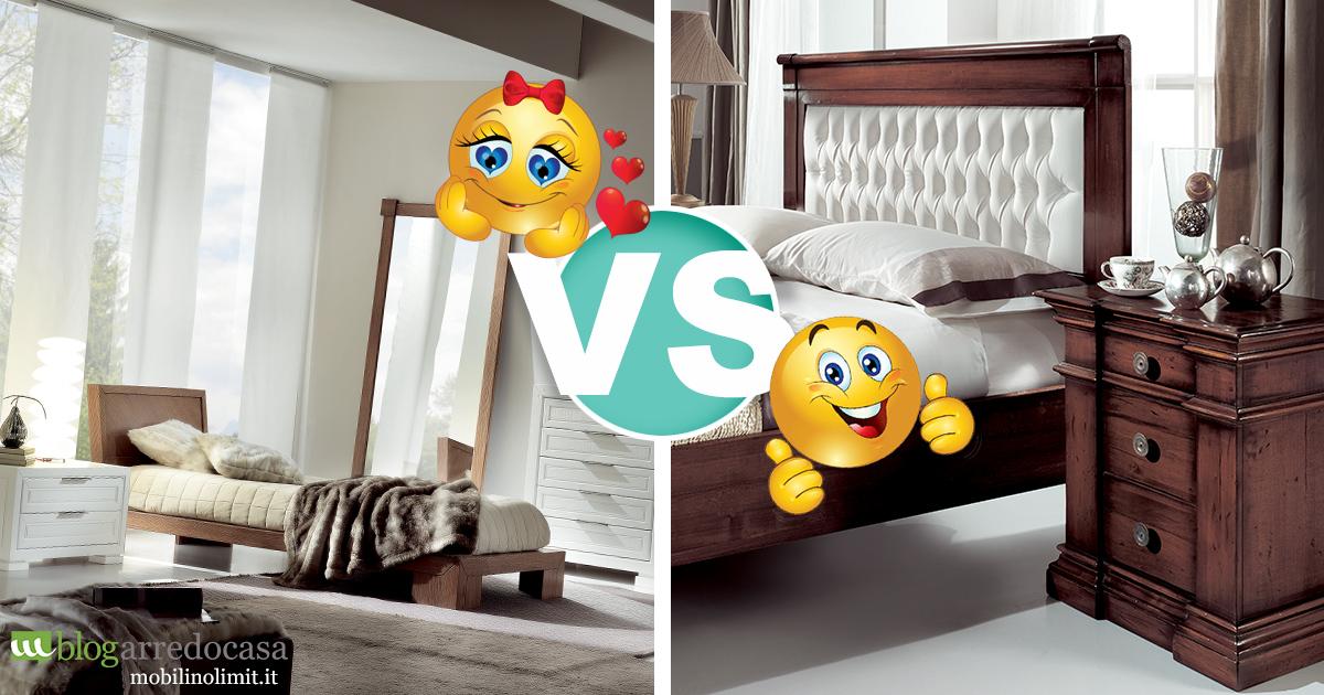 Camera da letto: classico o moderno? - M.Blog