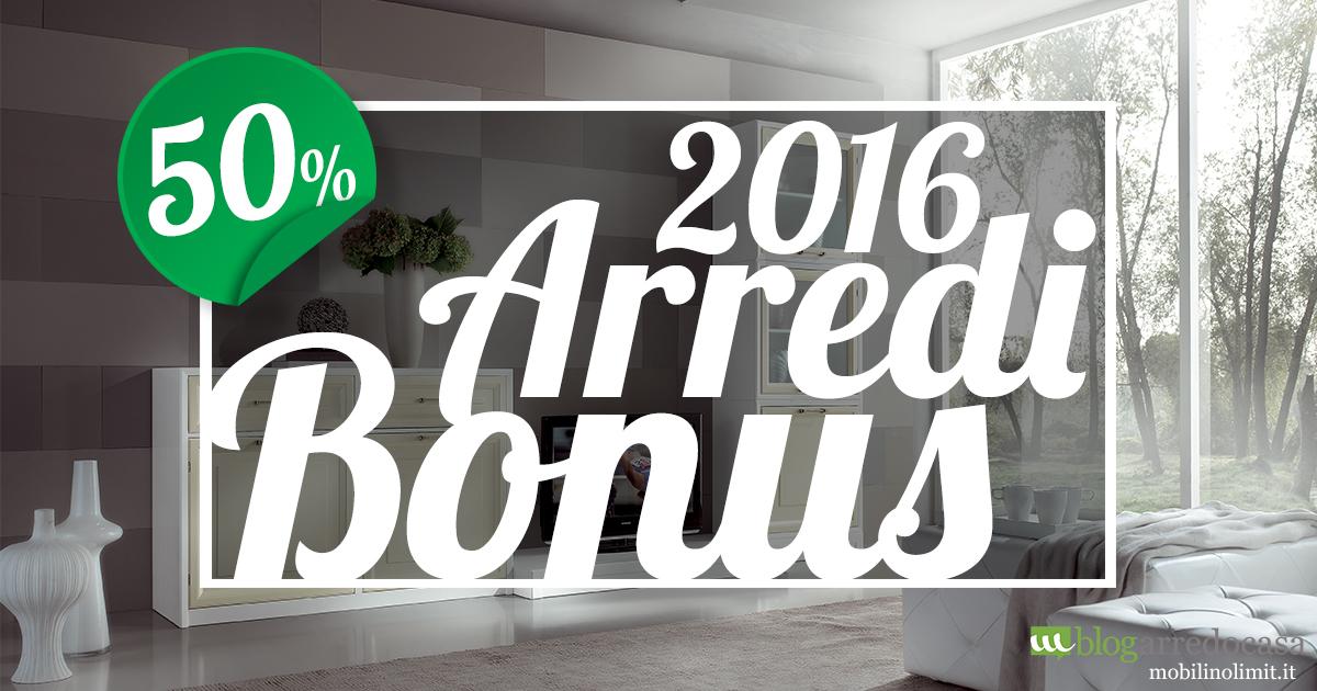 Bonus arredi 2016 cos 39 e come funziona m blog for Bonus arredi 2016