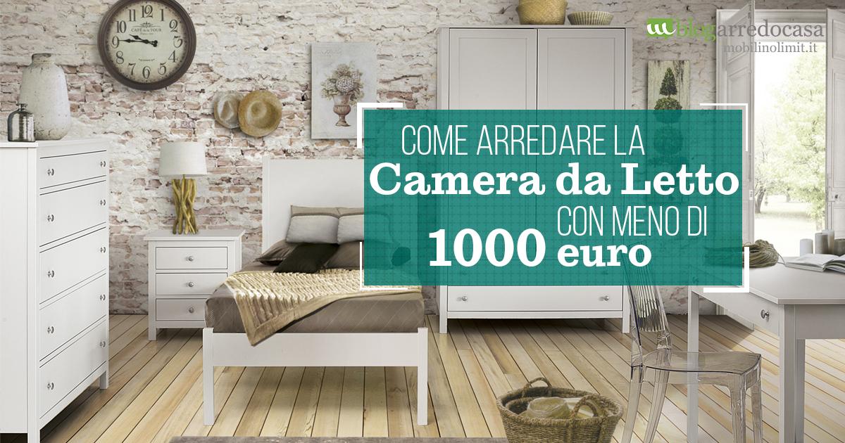 Come Arredare La Camera Da Letto Con Meno Di 1000 Euro M Blog