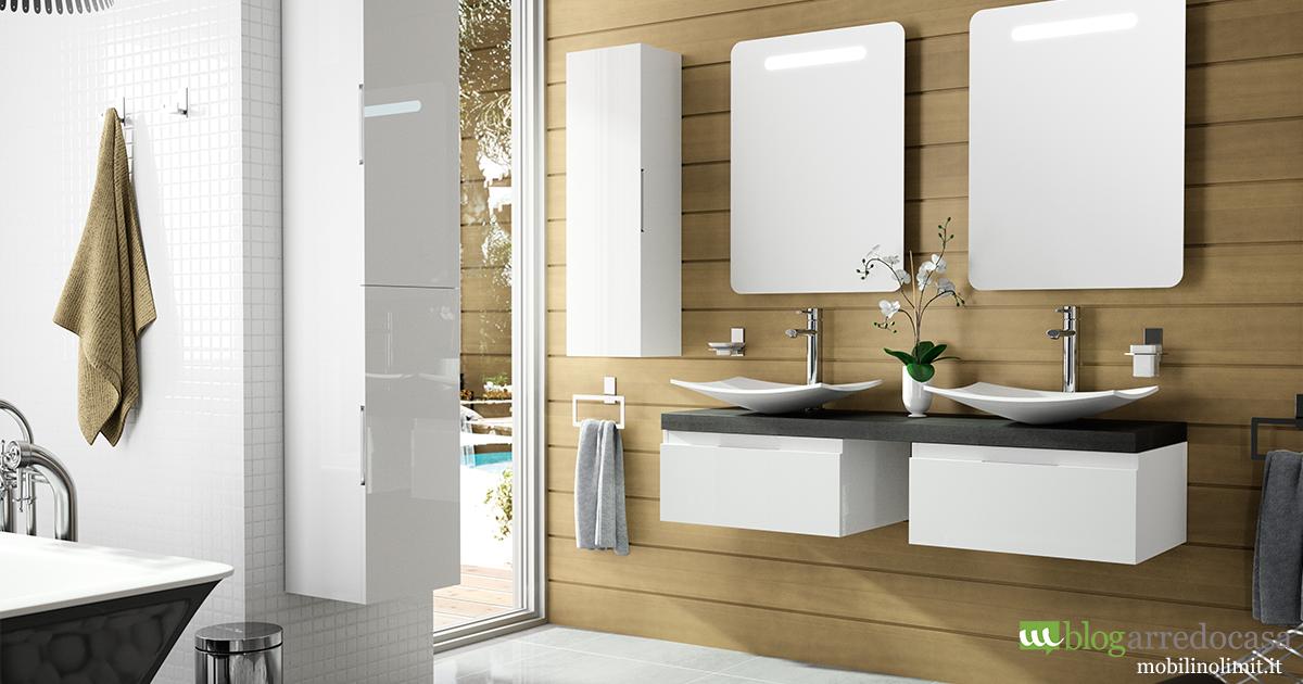 Mobili bagno con doppio lavabo pro e contro m blog - Mobili per lavabo bagno ...