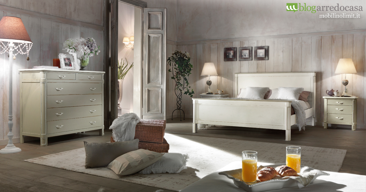 Arredare la camera da letto in shabby chic m blog for Camera da letto arredamento