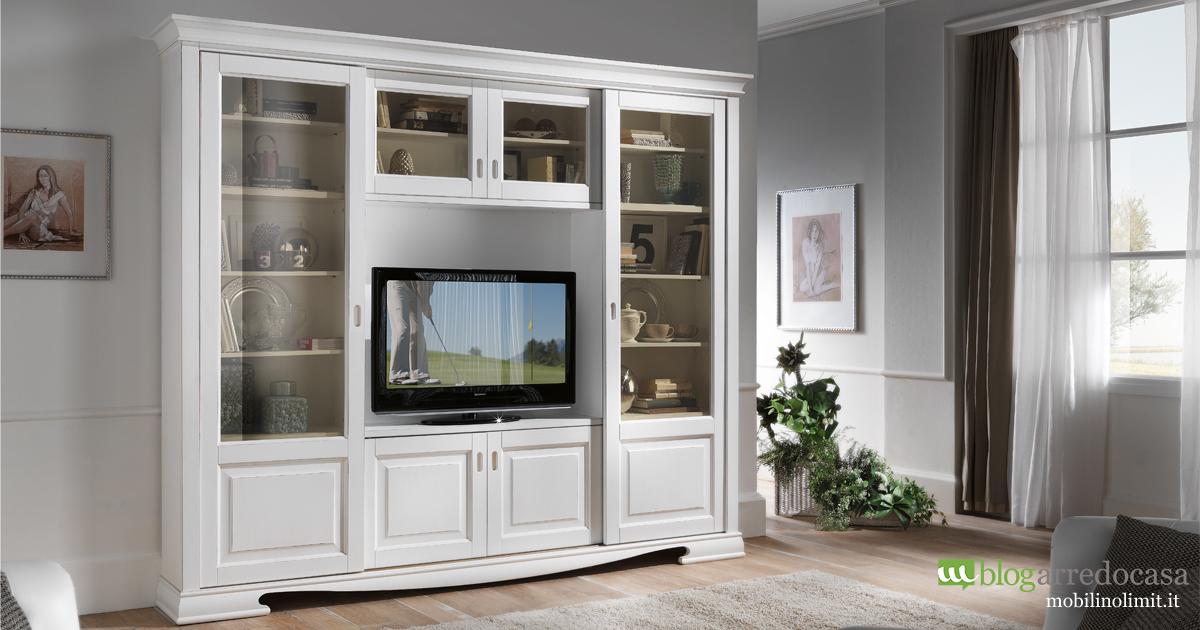 Mobili porta televisore in legno massello m blog - Mobili classici legno massello ...