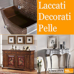 Laccati - Decorati - Pelle