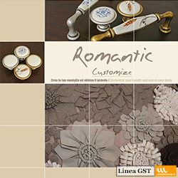 Maniglie e pomoli - Linea Romantic Customize