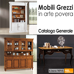 Vendita mobili mobili bagno grezzi o rifiniti - Catalogo mobili arte povera ...
