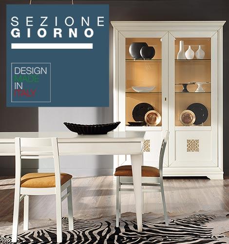 Mobili per soggiorno e sala da pranzo, stile classico e contemporaneo