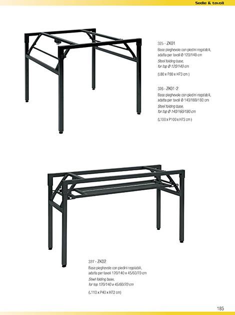 Tavoli pieghevoli obi decorare la tua casa - Gambe tavoli ikea ...