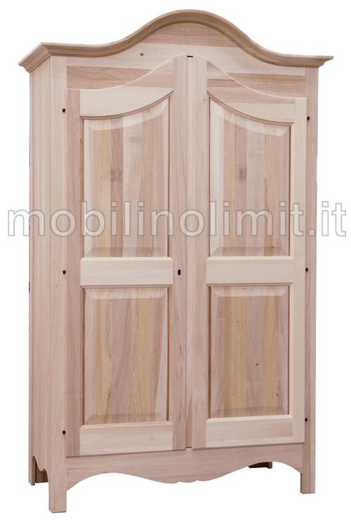 Cassettiera ad angolo 7 cassetti grezza for Armadio legno grezzo