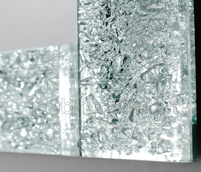 dettaglio cornice specchio