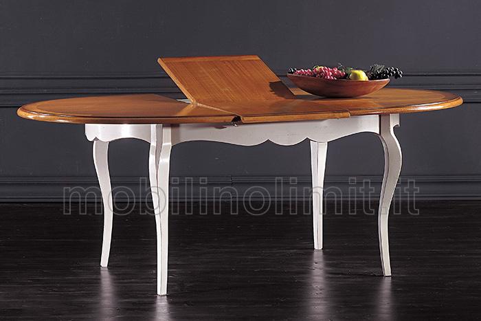 piano del tavolo allungabile