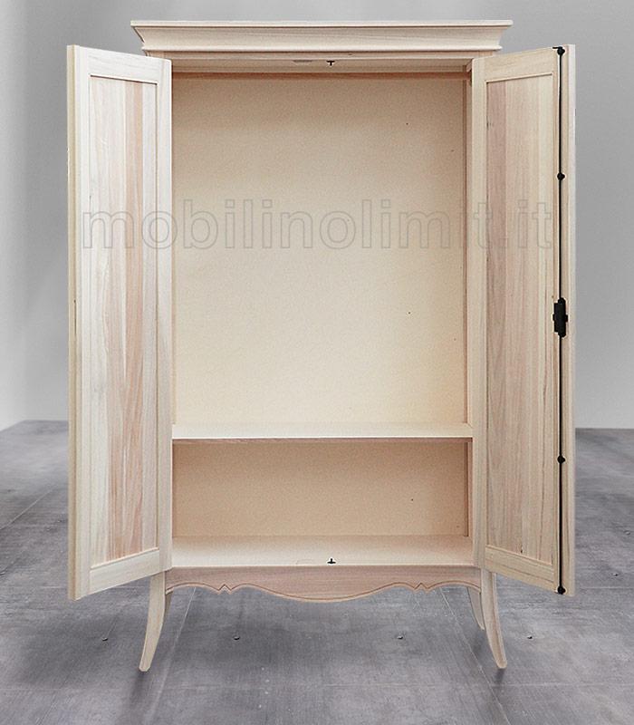 vista interno dell'armadio