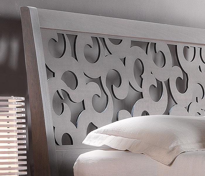 Testata letto in legno