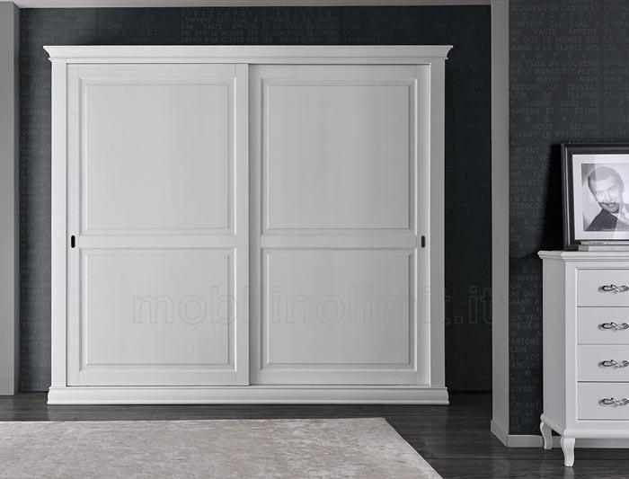 armadio bianco classico