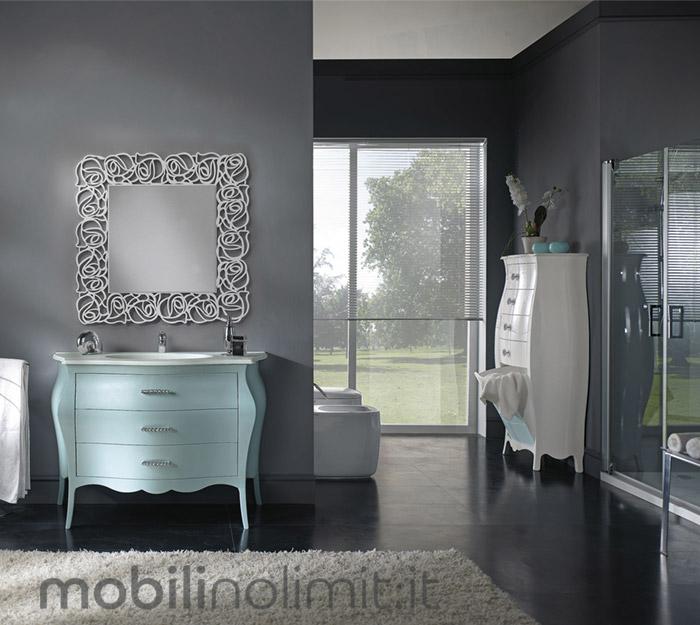 lavabo bianco in mineralmarmo