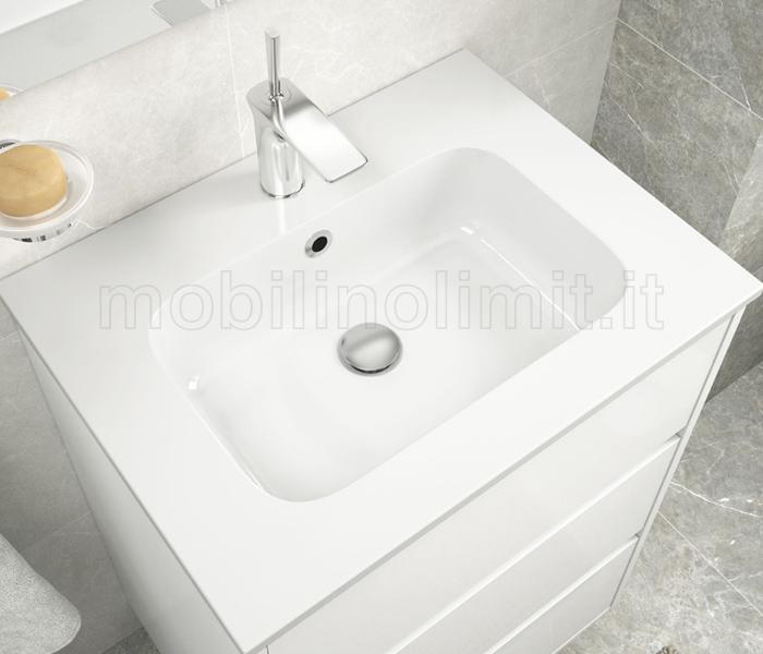 capienza vasca lavabo