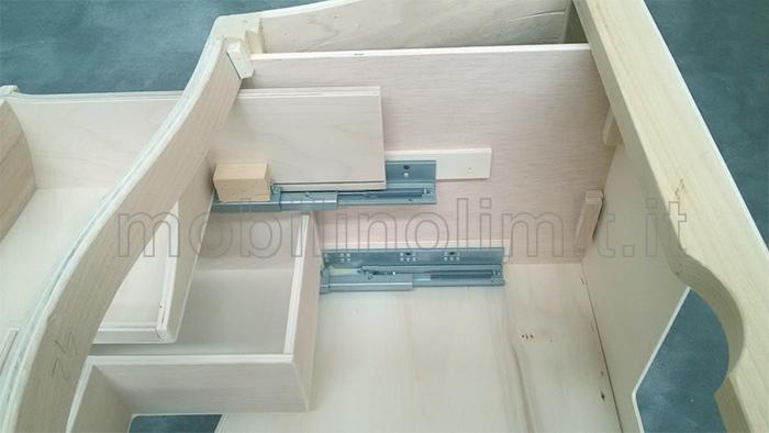struttura dei cassetti