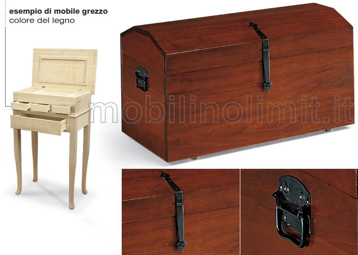 Baule grezzo for Mobili provenzali grezzi