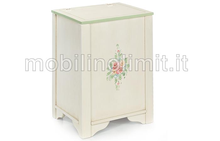 Baule verticale provenzale for Mobili provenzali grezzi