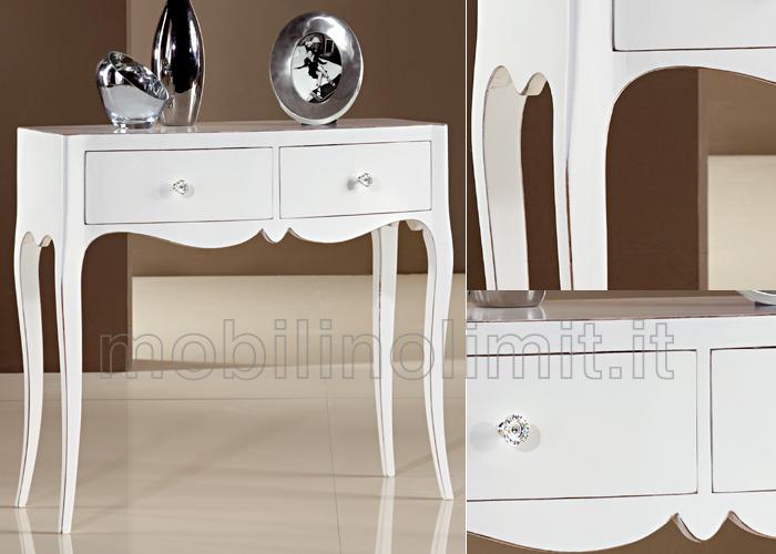 Consolle 2 cassetti grezzo for Consolle moderne di design