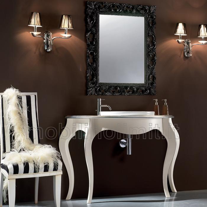 bagno in foglia argento  style, Disegni interni