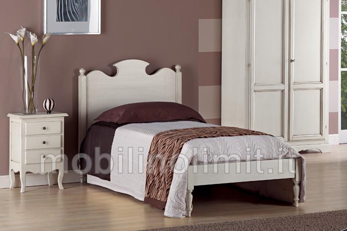 Letto con testata sagomanta una piazza - Testate del letto ...