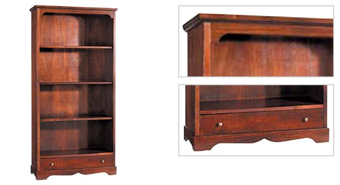 Libreria 4 ripiani for Librerie a basso costo