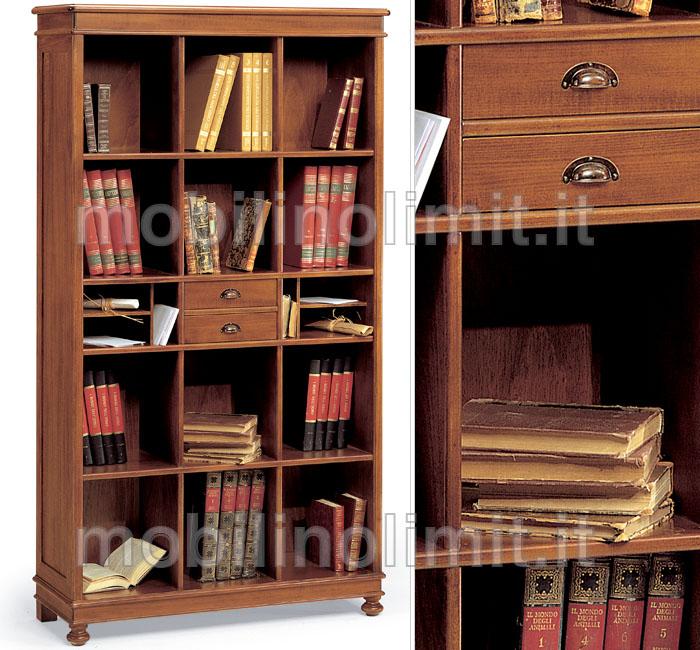 Libreria a giorno grezzo - Mobile a giorno ...