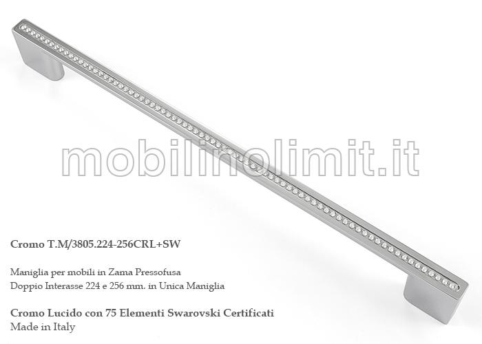 Bastoni per tende con swarovski latest bastoni per tende for Maniglie per mobili moderni