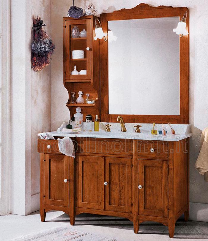 Mobile bagno 4 porte 2 cassetti - Mobili bagno arte povera ...