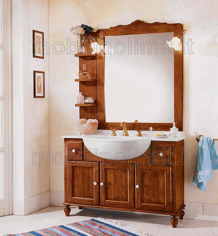 Mobile bagno 3 ante 2 cassetti - Mobili bagno arte povera ...