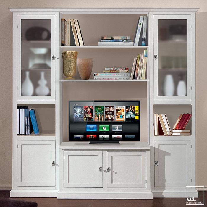 Parete soggiorno granato mobili idee per il design della - Mobili a parete per soggiorno ...