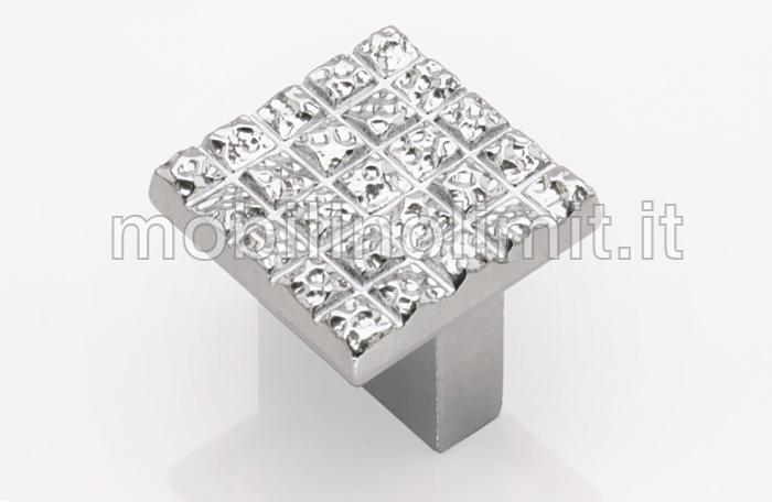 Pomolo bright 16 cromo lucido vendita on line for Maniglie per mobili moderni