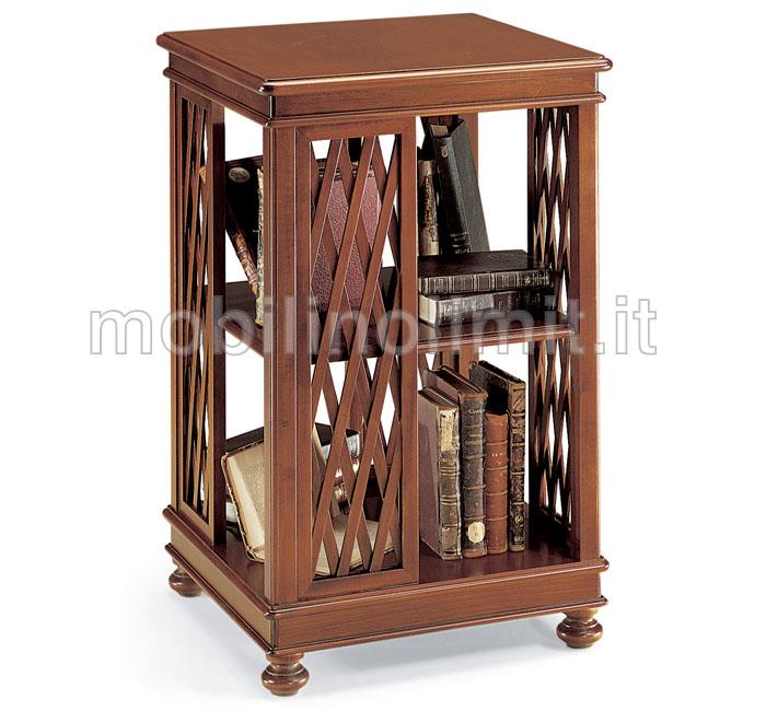 Porta libri grezzo for Mobile porta tv legno grezzo
