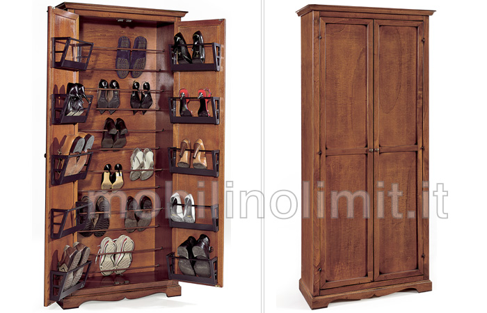 Porta scarpe noce - Portascarpe da armadio ikea ...