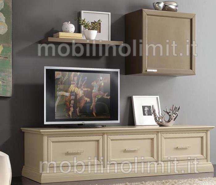 Porta tv 3 cassettoni grezzo - Mobili porta tv economici ...
