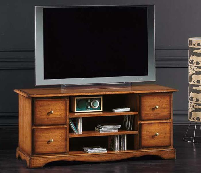 Porta televisori in arte povera   mobili grezzi o rifiniti