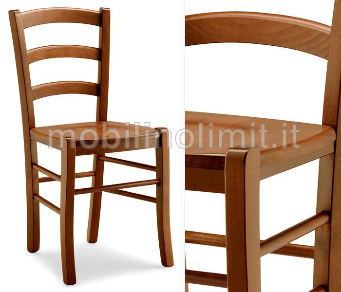 Sedia rustica con seduta in legno - Tappezzare sedia costo ...
