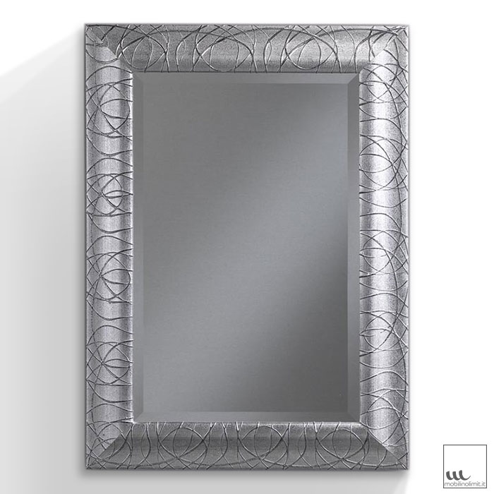 Stunning specchio foglia argento pictures for Obi stufe a legna catalogo