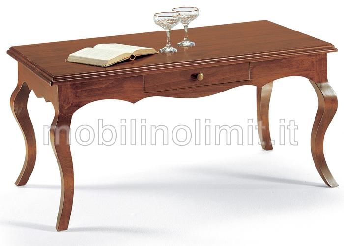 Tavolino Con Cassettino