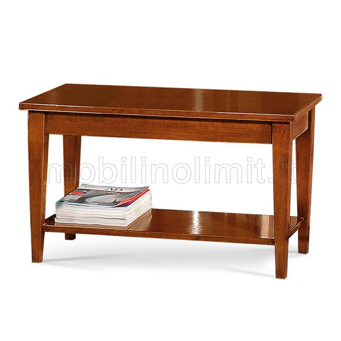 Tavolino da salotto con 2 ripiani for Salotto con tavolo da pranzo