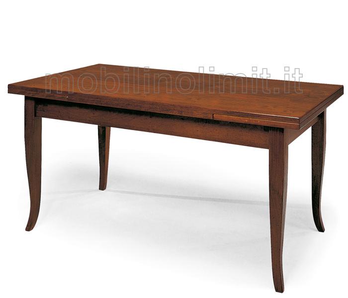 Tavolo con allunghe 160x85 - Tavolo ovale allungabile arte povera ...