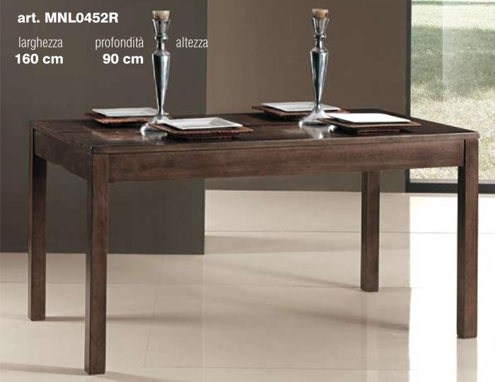 tavolo finitura weng 160x90